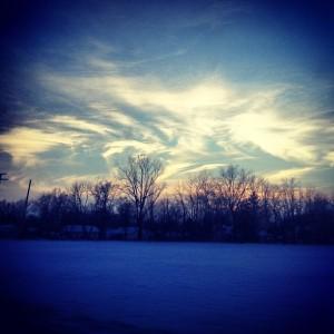 Indiana winter by Lauren