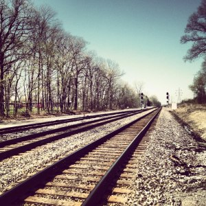 railroad tracks - Keely 2013