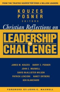 Christian Reflections Leadership Challenge book cover
