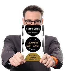 leaders eat last book with Simon Sinek