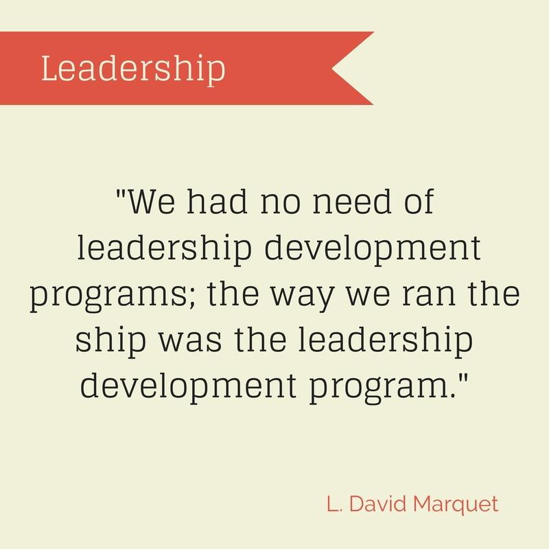 L. David Marquet on leadership