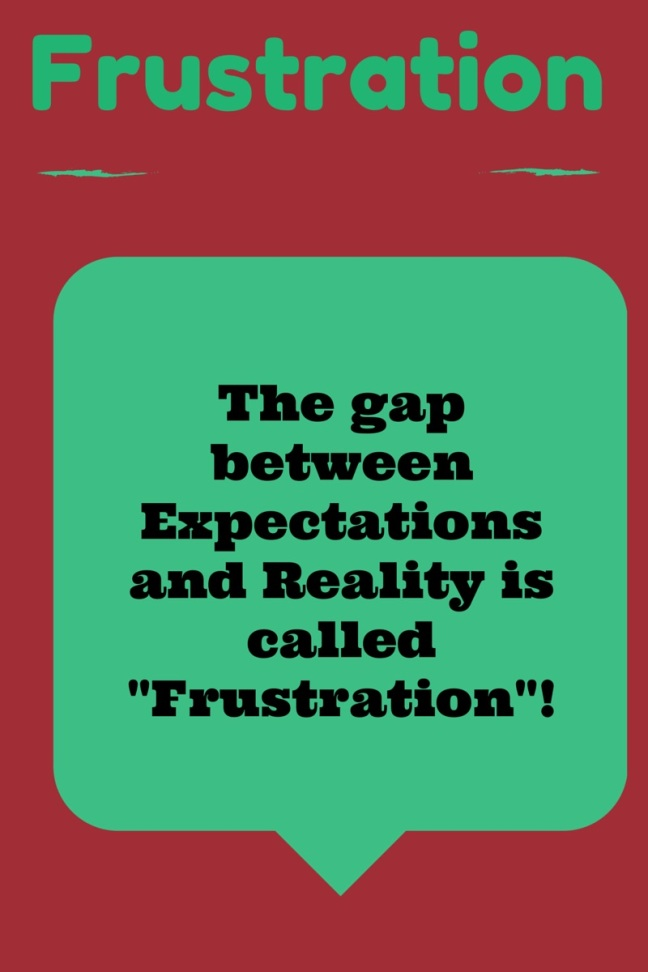 Frustration Graphic