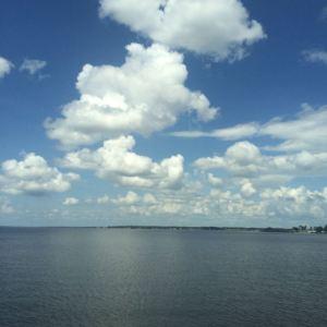 Lauren - Blue sky over the REZ