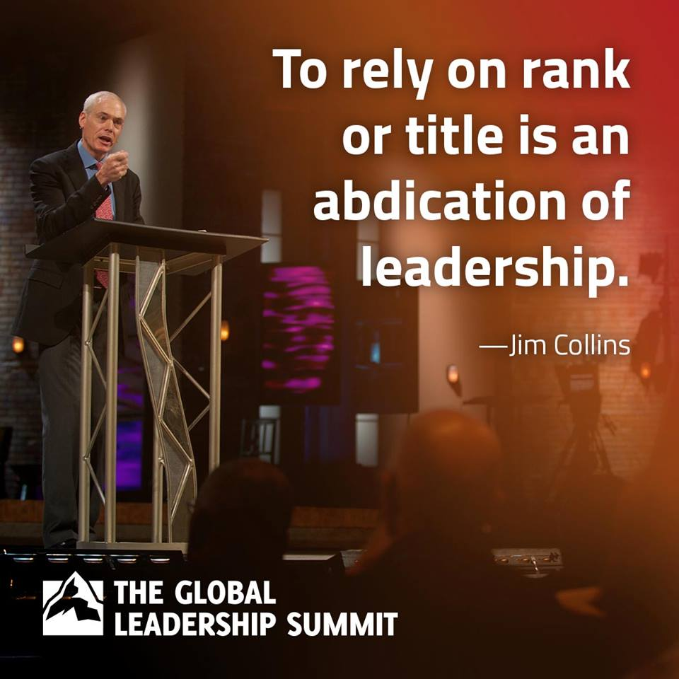 Rank - Jim Collins Quote
